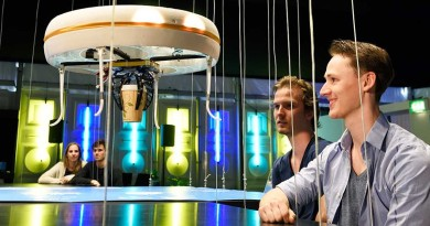 全球首間無人機咖啡館 飛天侍應 Blue Jay 落單運送飲品