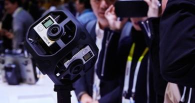 GoPro VR 拍攝神器 Omni 用 Hero 4 Black 拍 4K 360 度影片