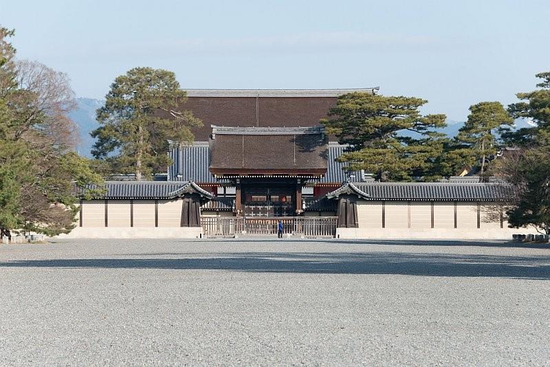 京都御苑乃日本京都的著名景點。