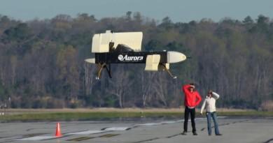 巨無霸無人機 LightningStrike 首度起飛 垂直升降•穩定懸浮
