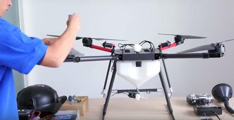 MMC 也有出產農用無人機,如圖中的瑞雪 A4x plus。