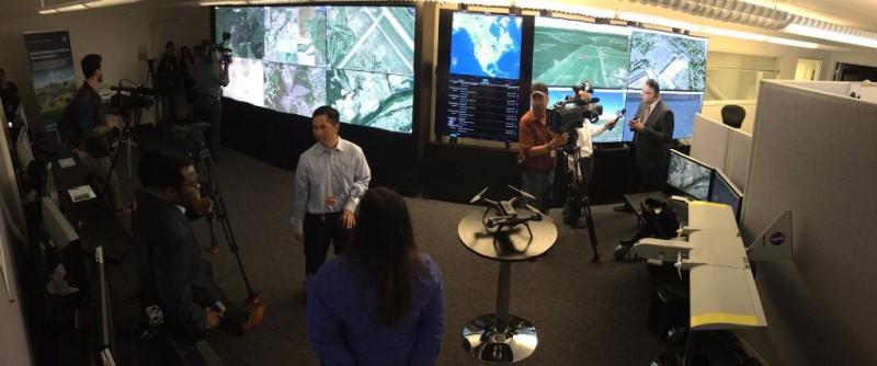 NASA 無人機交通管理系統首個跨州測試