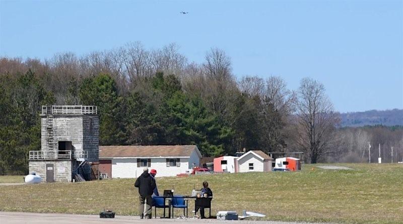 NASA 早前進行無人機空管系統首次跨州測試。