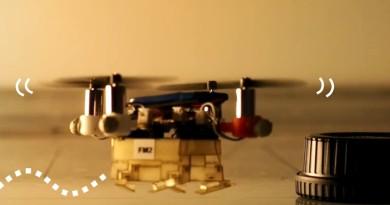 Picobug 無人機既飛天又爬地,是深入險境勘察的小幫手