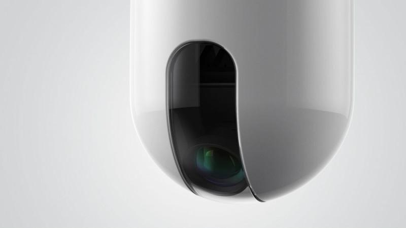 ROAM-e 的空拍攝影機用上 500 萬像素的 CMOS 感光元件。