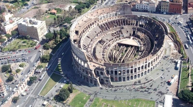 無人機飛入羅馬競技場即罰款 11 萬歐元