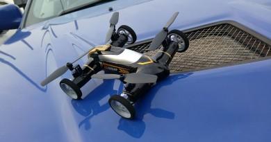 遙控車+飛行器混合體 陸空兩棲無人機 Syma X9 性能評測