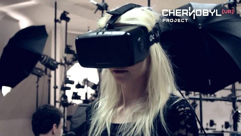 用戶只要戴上 VR 眼鏡,即可看到切爾諾貝爾的 360 度環景圖像,讓人彷彿親臨現場。