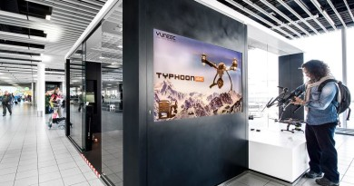 Yuneec 荷蘭機場首設體驗中心 現場立即試飛!
