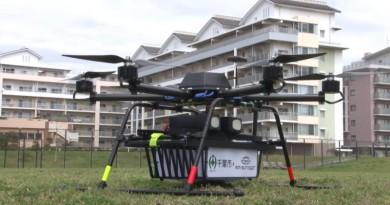 日本千葉試飛送貨無人機 首次市內宅配成功