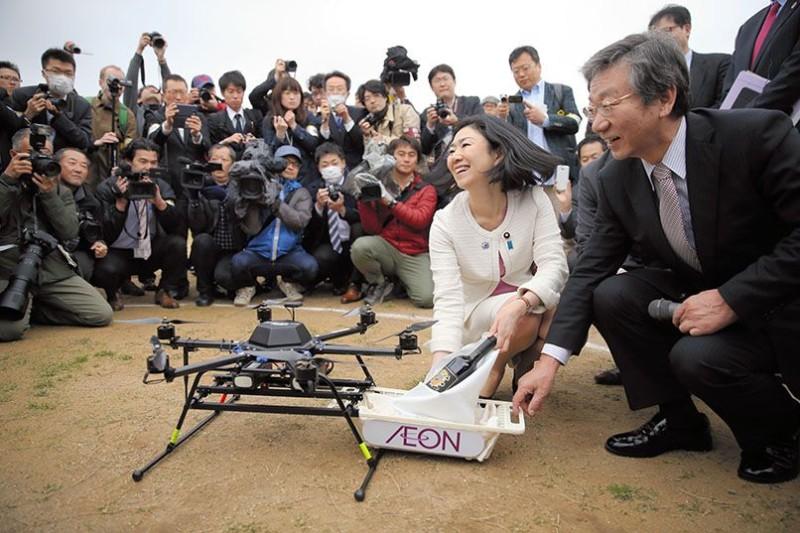 千葉市採用 ACSL Mini Surveyor 試飛