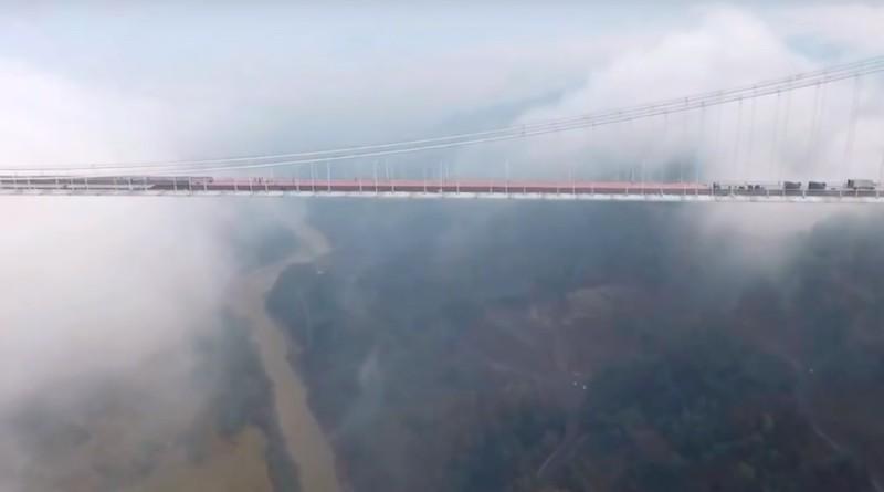 龍江特大橋 航拍 雲南 中國
