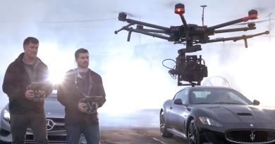 DJI 劍指電影製作市場 專業級航拍機 Matrice 600 強勢降臨