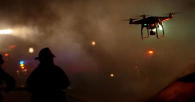 DJI Phantom 無人機空降歐洲 輔助消防滅火・山區救人