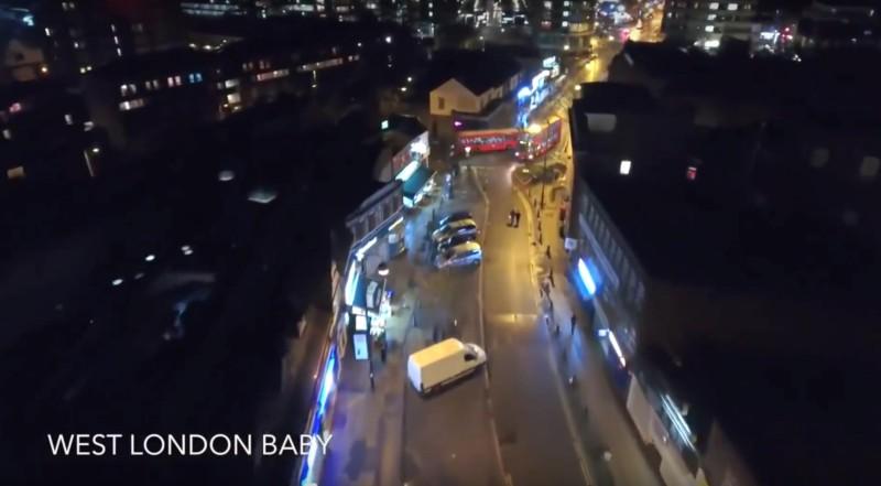 夜拍倫敦街頭