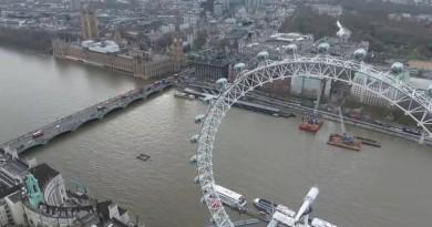 美總統歐巴馬訪英在即 無人機玩家搶閘空拍倫敦贈慶?!