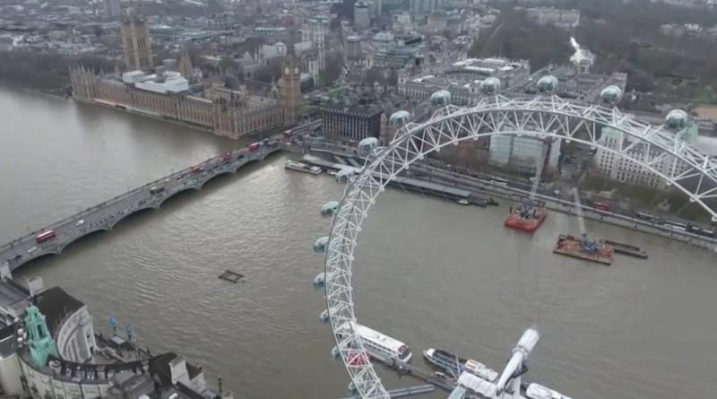 倫敦 空拍機 違法