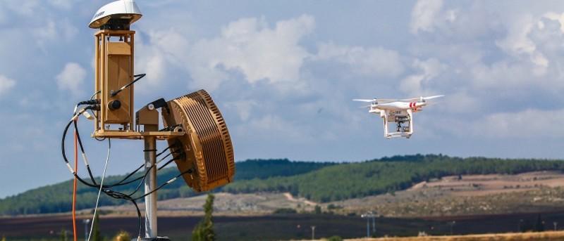 反無人機裝置如無形保護罩,對付隨時來犯的無人機。