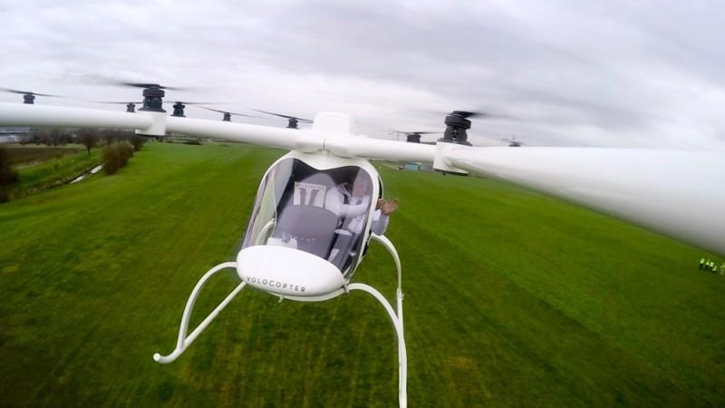 e-volo Volocopter VC200 容易操作