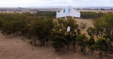 無人機快遞最安全方案!Google 凌空卸貨專利技術曝光