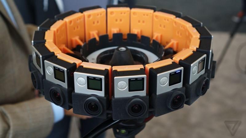 Odyssey 需裝配 16 部 GoPro 運動相機。