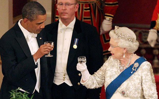 奧巴馬與英女王將於溫莎堡會面。