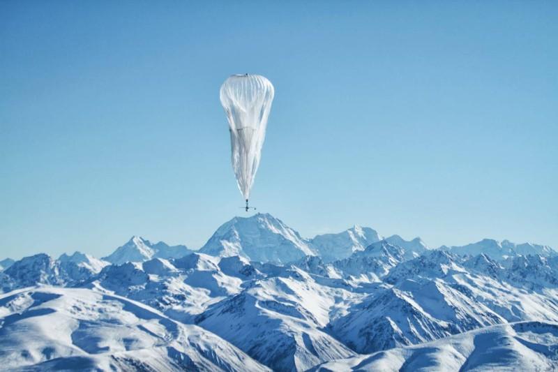 Google 計劃放氣球上高空, 向全球各地發放 Wi-Fi 訊號。