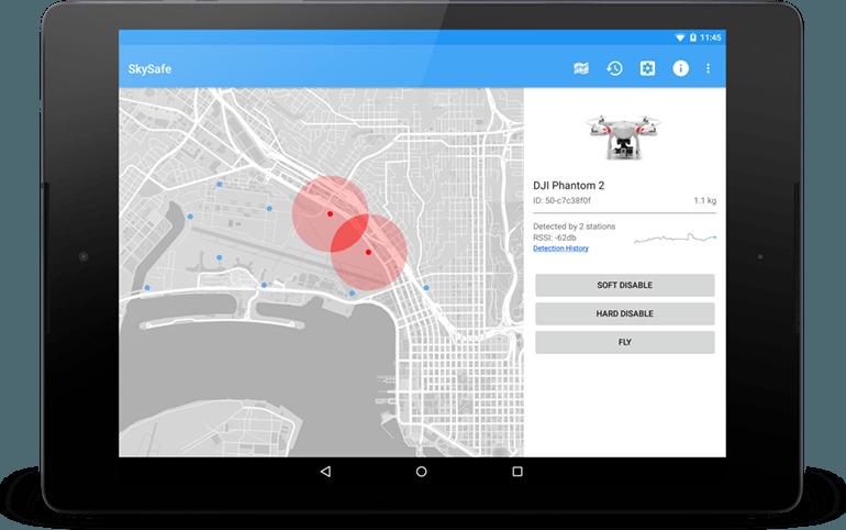 SkySafe 提供 3 種接管無人機的方式,有「騎劫」飛行,亦有強制降落。