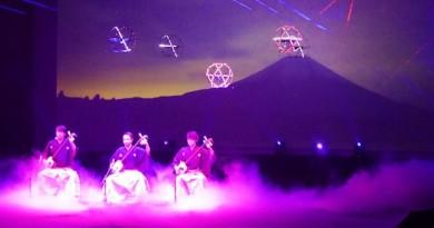 夢幻系無人機 Sky Magic 富士山下的視覺音樂盛宴