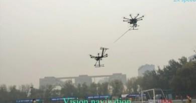用無人機幫另一部無人機空中充電,並非遙不可及!