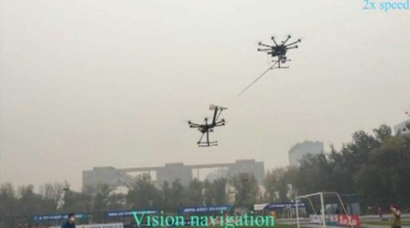 北京航空航天大學自動空中加油