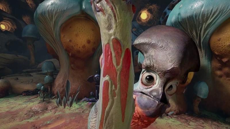 《Farlands》讓你進入外星虛擬世界,跟外星人接觸。