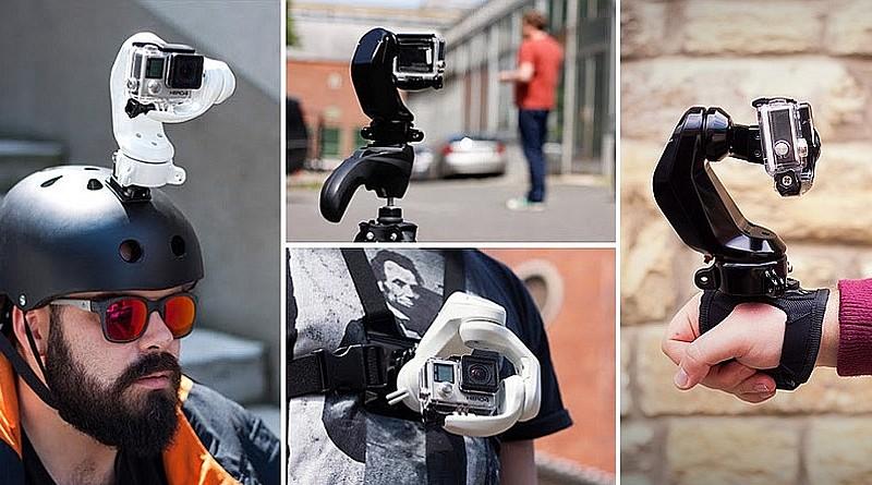 VR 體感操控三軸電動雲台 Sybrillo