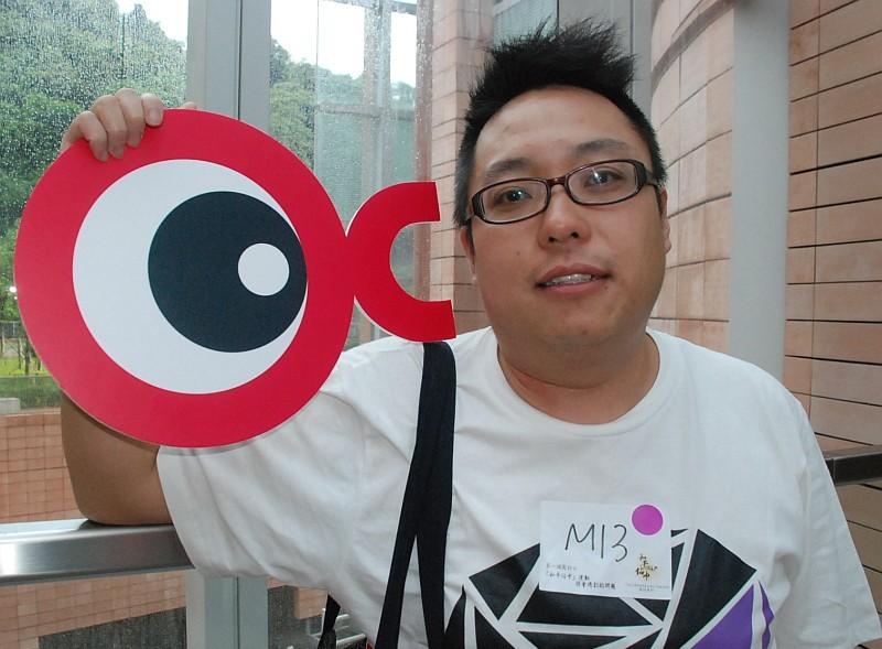 譚得志表示,擬利用無人機向張德江展示爭取普選等訴求的標語。