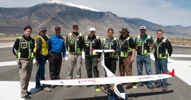 人工降雨無人機二度測試 固定翼機型便於飛入雲層撒種