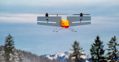 DHL 秘測送貨無人機 德國雪山小鎮成功試行 3 個月