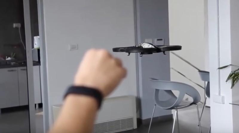 Avis 手環 無人機 體感操控 NASA