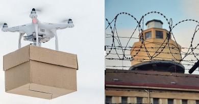 囚犯用無人機運毒已成常態 普及程度有如披薩外送!