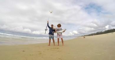 最潮釣魚玩法?無人機釣 20 公斤巨型吞拿魚!