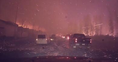 加拿大史上最具破壞性的火災 空拍機助尋山火成因