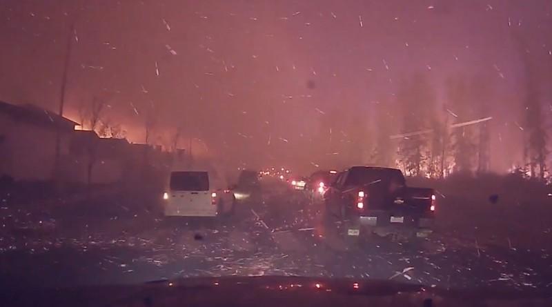 加拿大 山火 空拍機