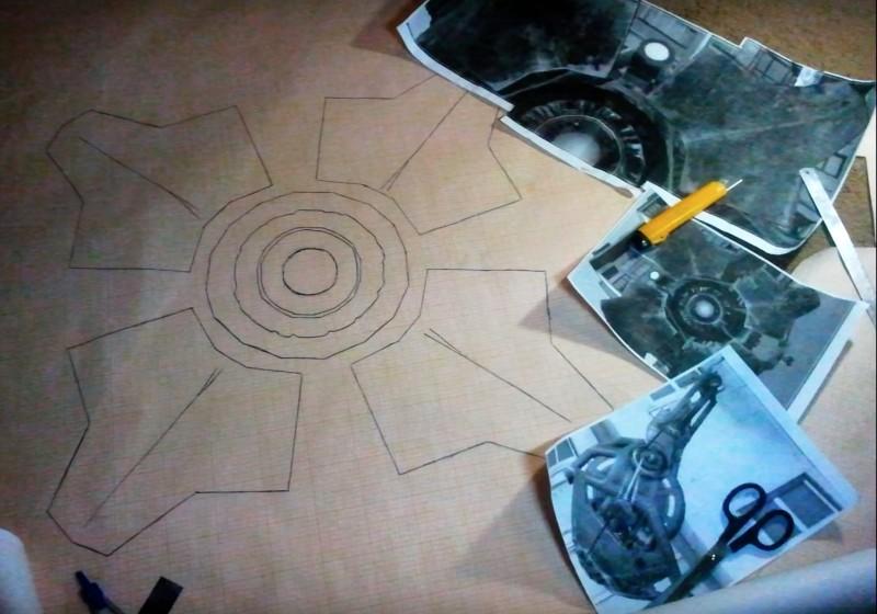 City Scanner 無人機由草稿到完成品都是由 Valentin Demochenko 一手一腳製作。