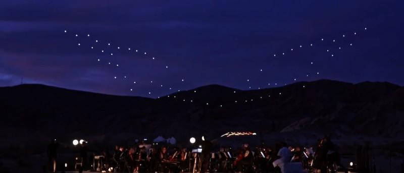 無人機 Intel 飛行 匯演