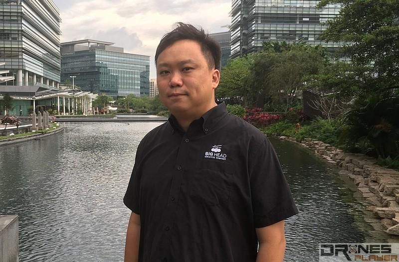 香港航拍專家周亦樂稱,港暫時沒有反無人機系統出售。