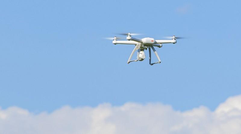 小米無人機官方直播疑似炸機事件