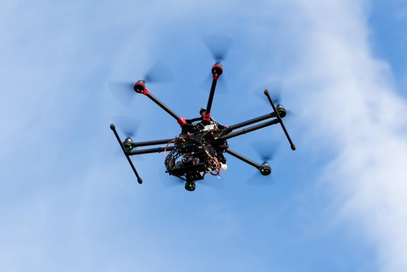 韓國有組織用 6 軸無人機偷運物品到朝鮮。