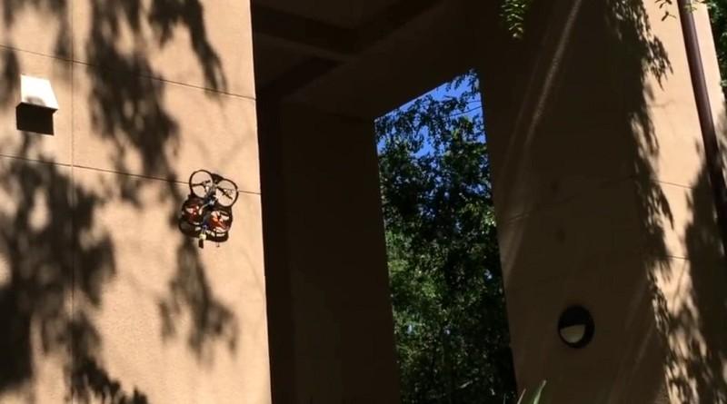史丹福大學研發可依附牆壁的無人機