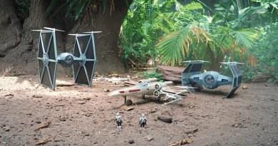 無人機《星戰》微電影!X-Wing•TIE 戰機空中穿越追逐戰