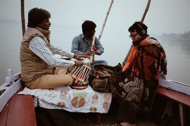 張皓然到印度體驗當地人文風情。(張皓然作品)