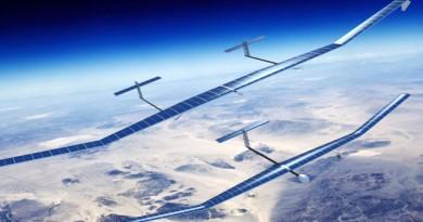 空中巴士 Zephyr T 太陽能無人機 化身衛星無間斷發射訊號